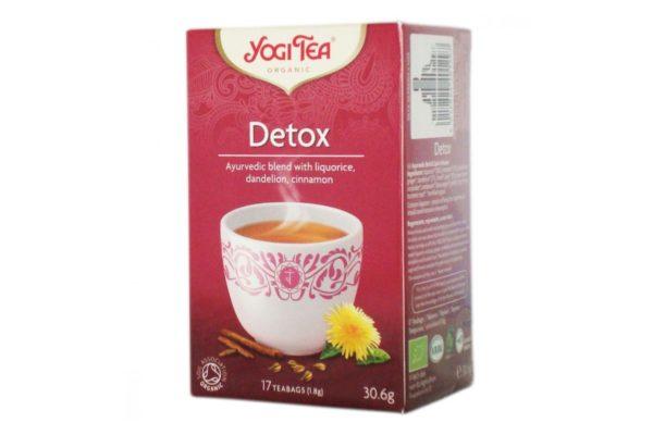 Ceai Bio Detoxifiant Yogi Tea 30.6 grame