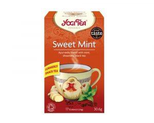 Ceai Bio aperitiv menta dulce si assam Yogi Tea 30.6 grame