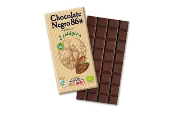 Ciocolata neagra BIO 86% cacao 100 grame
