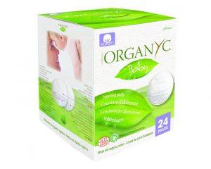 Dischete Organyc din bumbac organic pentru sani 24 bucati