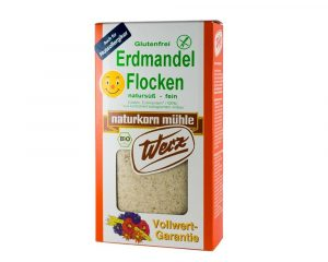 Fulgi Bio din migdale de pamant fara gluten 250 grame