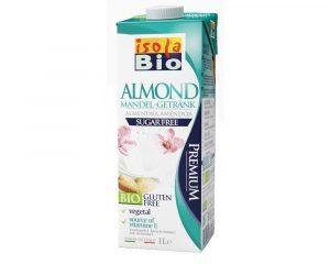 Băutură bio de migdale neîndulcită Isola Bio 1000 ml