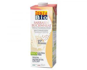 Băutură bio din hrişcă fara zahar Isola Bio 1000 ml