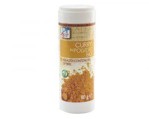 Curry bio cu recipient 80 gr