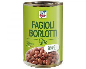 Fasole Borlotti bio 400 gr