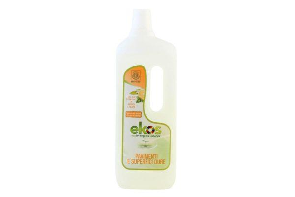 Soluţie ECO de curăţare pentru podele şi suprafeţe dure Ekos