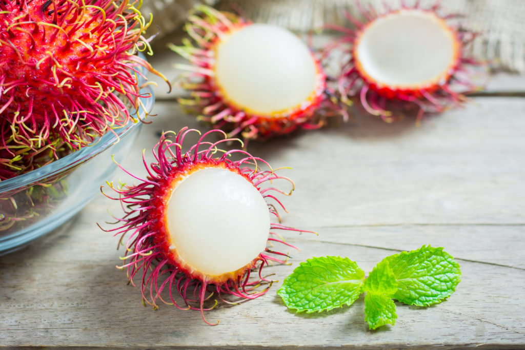 Rambutan - beneficiile fructului spinos