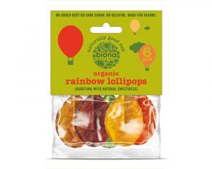 Acadele rainbow bio 6buc fără zahăr