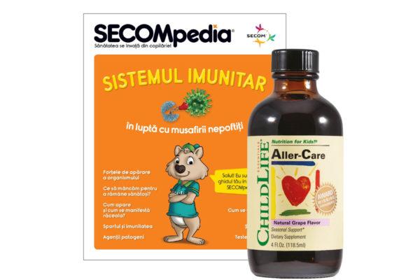 Aller-Care gust de struguri Secom 118,5 ml