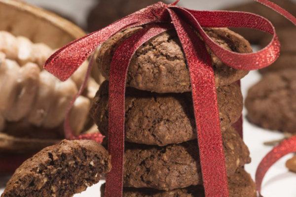 Biscuiţi vegani cu cacao şi mirodenii Hiper Ambrozia 150 g