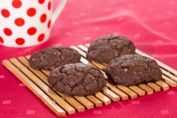 Biscuiţi vegani cu roşcove şi ovăz Hiper Ambrozia 150 g