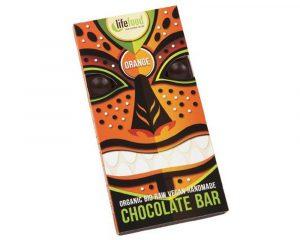 Ciocolată cu portocale raw bio 70g