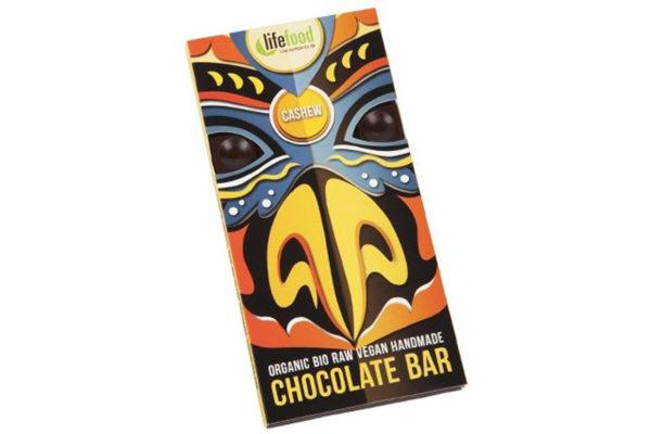 Ciocolată cu nuci caju raw bio 70g