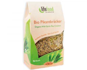 Crackers cu leurdă raw bio 90g