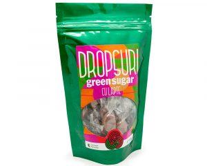 Dropsuri Green Sugar cu lapte, fără zahăr, 150 gr