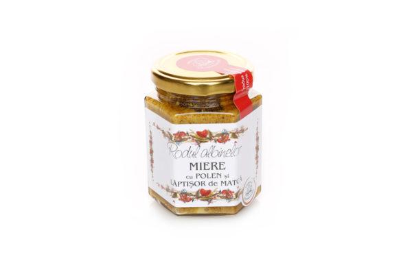 Energizant - amestec de miere, polen si lăptişor Rodul albinelor 200 gr
