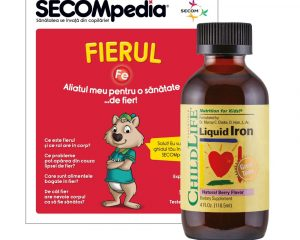 Liquid Iron 10 mg gust de fructe Secom 118,5 ml