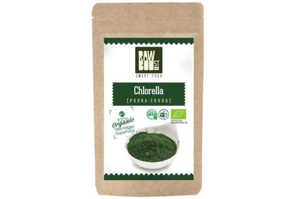 Chlorella pudră Raw Boost 125 grame