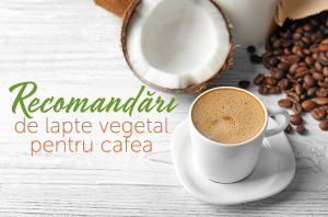 recomandari de lapte vegetal pentru cafea