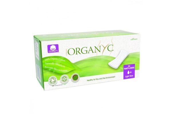 Absorbante zilnice Organyc din bumbac organic 24 bucati