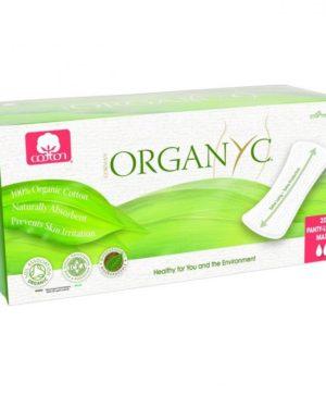 Absorbante zilnice Organyc MAXI din bumbac organic 20 bucati