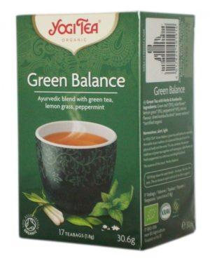 Ceai Bio Echilibru Verde Yogi Tea 30.6 grame