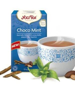 Ceai Bio din boabe de cacao si menta Yogi Tea 37.4 grame
