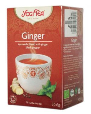 Ceai Bio de Ghimbir Yogi Tea 30.6 grame