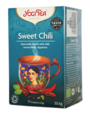Ceai Bio Ardei dulce Yogi Tea 30.6 grame