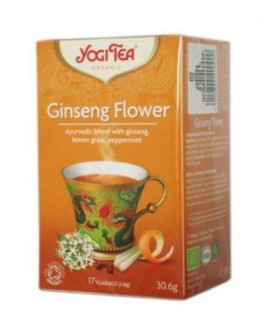 Ceai Bio Flori de Ginseng Yogi Tea 30.6 grame