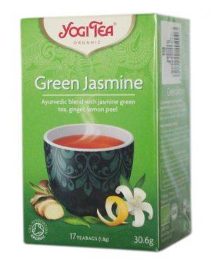 Ceai Bio verde cu iasomie Yogi Tea 30.6 grame
