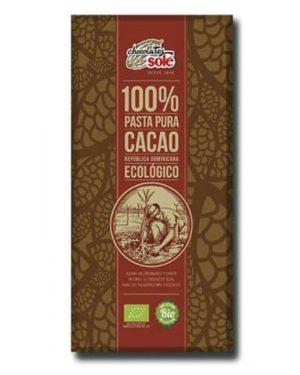 Ciocolata neagra BIO 100% cacao 100 grame