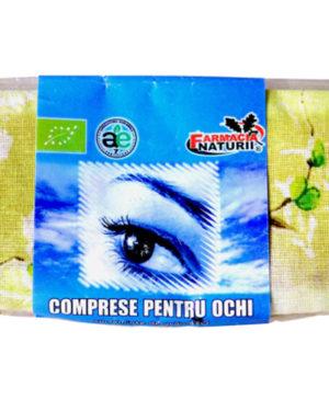 Comprese reci cu seminte pentru ochi