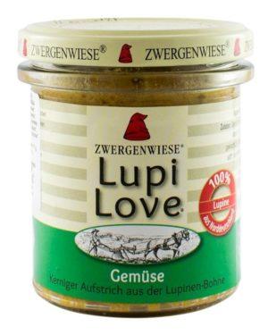 Crema tartinabila Bio vegetala din lupin cu legume Lupi Love 165 grame