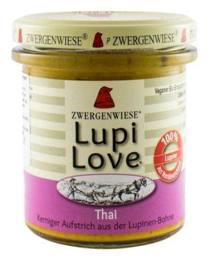 Crema tartinabila Bio vegetala din lupin cu cocos mirt lamâios Lupi Love 165 grame
