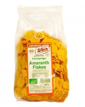 Fulgi Bio de amaranth fara gluten 250 grame