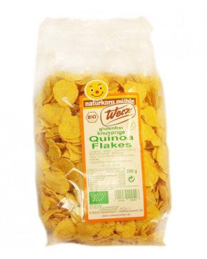 Fulgi Bio de quinoa integrala fara gluten 250 grame