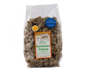 Fulgi Bio din hrisca integrala fara gluten 250 grame