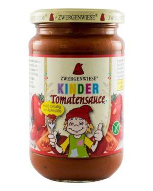 Sos BIO de rosii cu mere pentru copii 340 grame