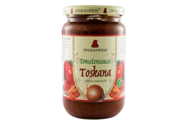 Sos BIO de rosii Toskana 340 grame