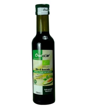Ulei bio de Avocado Crudolio 250 ml