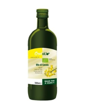 Ulei din seminte de rapita Bio extravirgin Crudolio 1000 ml