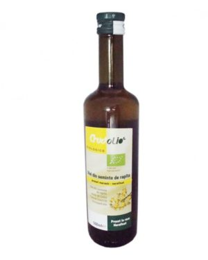Ulei din seminte de rapita Bio Crudolio 500 ml
