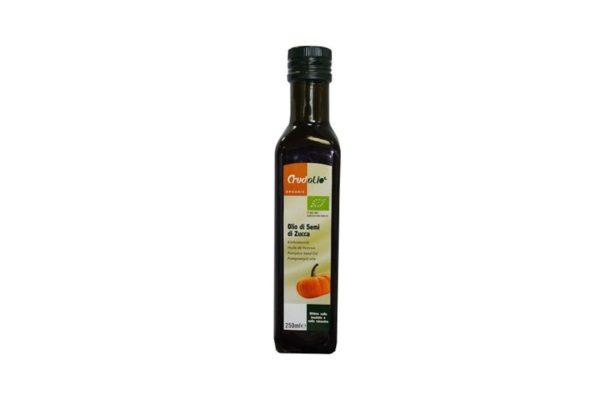 Ulei Bio din seminte de dovleac Crudolio 250 ml