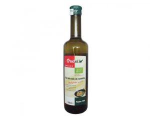 Ulei Bio din mix de seminte ideal pentru prajit Crudolio 500 ml