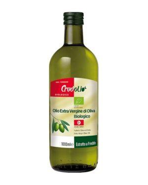 Ulei de masline Bio extaravirgin Crudolio 1000 ml