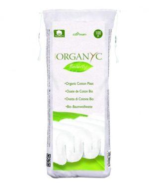 Vata Organyc din bumbac 100% organic 100 grame