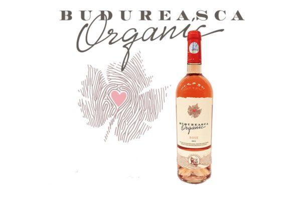 Vin Budureasca Organic Rose