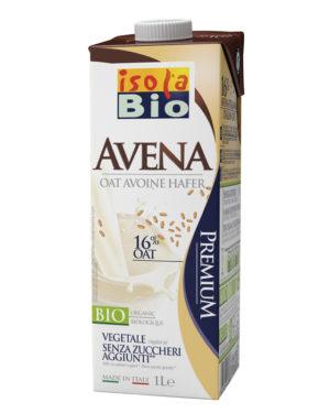 Băutură bio din ovaz fara zahar Isola Bio 1000 ml