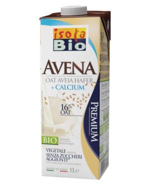 Băutură bio din ovaz şi calciu fara zahar Isola Bio 1000 ml